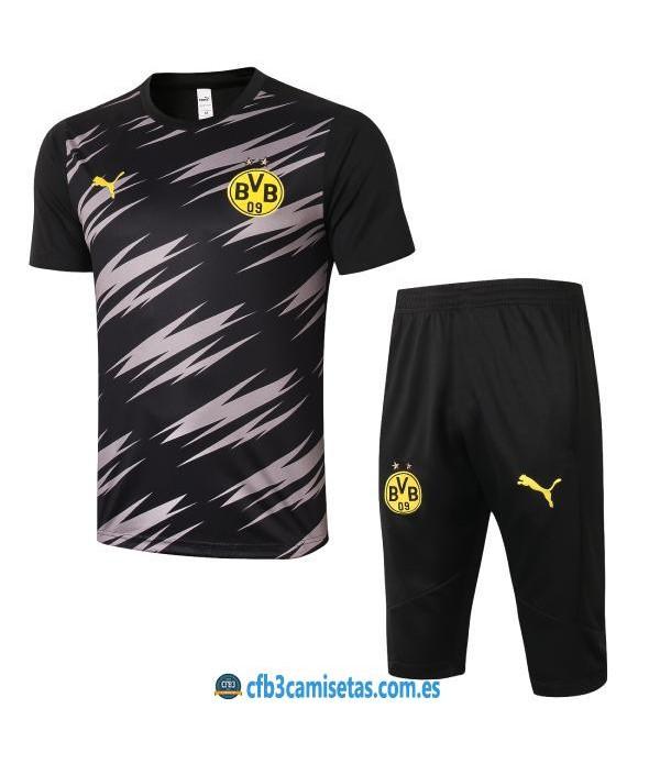 CFB3-Camisetas Kit entrenamiento borussia dortmund 2020/21 - negro