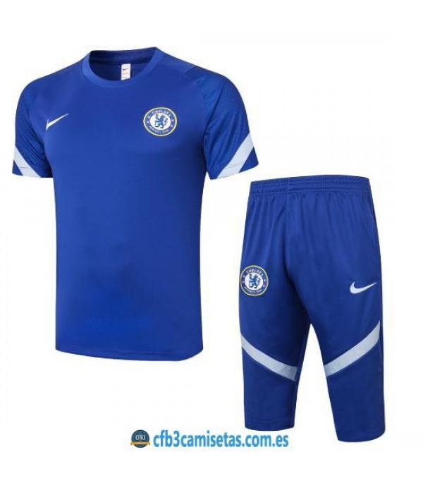 CFB3-Camisetas Kit entrenamiento chelsea 2020/21