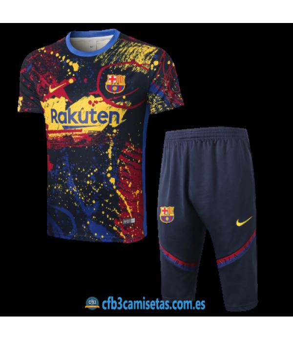 CFB3-Camisetas Kit entrenamiento fc barcelona 2020/21 - multicolor