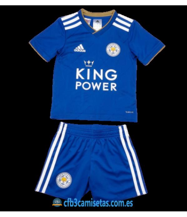 CFB3-Camisetas Leicester City 1a Equipación 2020/21 - NIÑOS