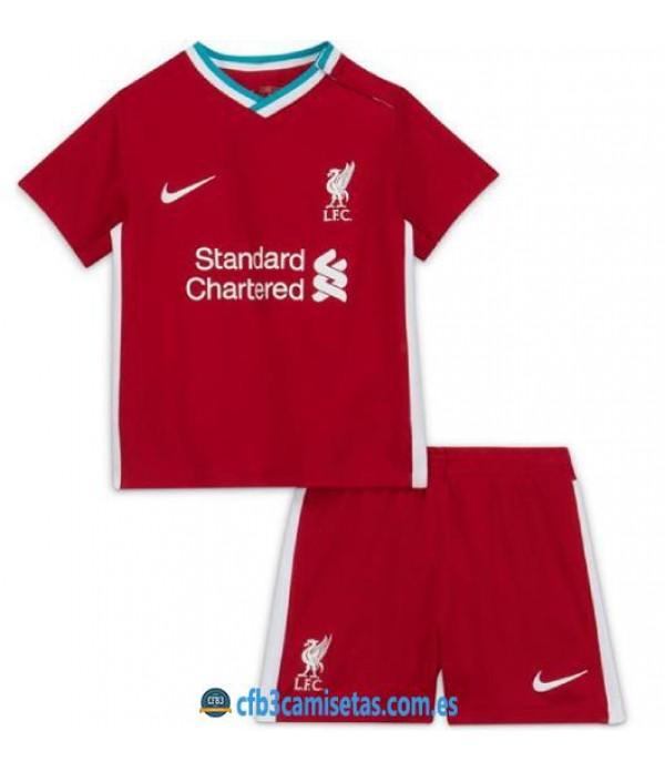 CFB3-Camisetas Liverpool 1a Equipación 2020/21 - NIÑOS