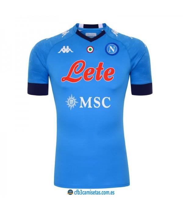 CFB3-Camisetas Napoli 1a equipación 2020/21