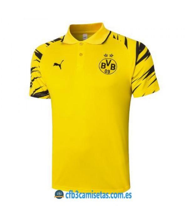 CFB3-Camisetas Polo borussia dortmund 2020/21