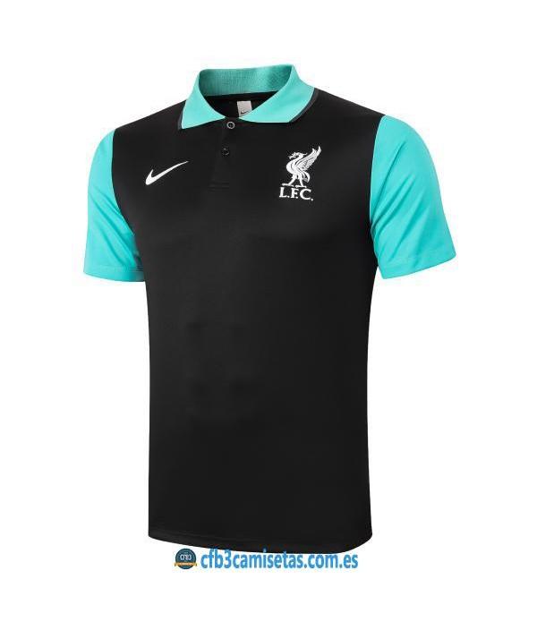 CFB3-Camisetas Polo liverpool 2020/21 negro