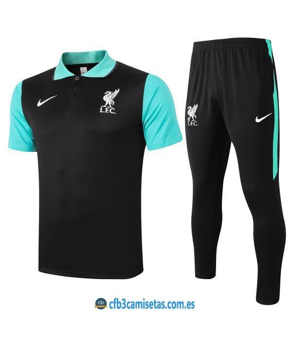 CFB3-Camisetas Polo pantalones liverpool 2020/21