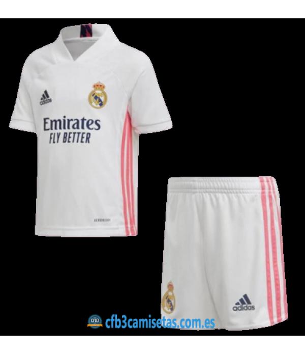 CFB3-Camisetas Real Madrid 1a Equipación 2020/21 - NIÑOS