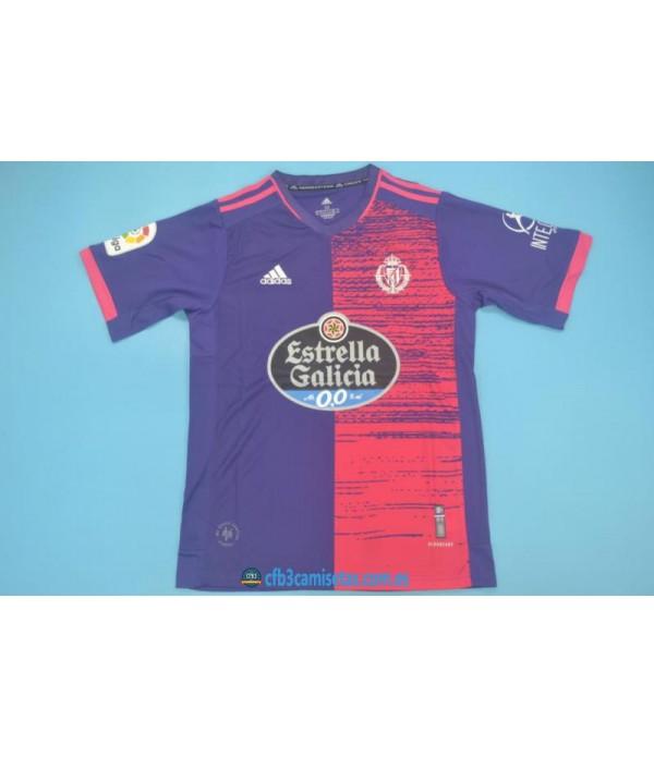 CFB3-Camisetas Real valladolid 2ª equipación 2020/21