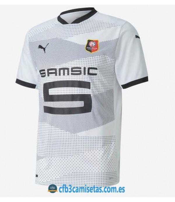 CFB3-Camisetas Stade rennais 2a equipación 2020/21