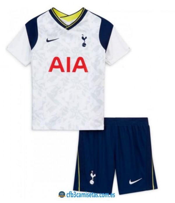 CFB3-Camisetas Tottenham Hotspur 1a Equipación 2020/21 - NIÑOS