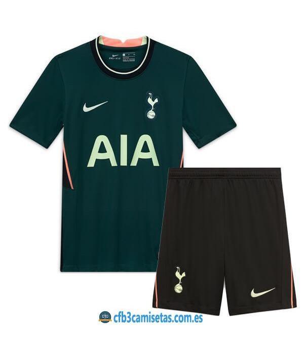 CFB3-Camisetas Tottenham Hotspur 2a Equipación 2020/21 - NIÑOS