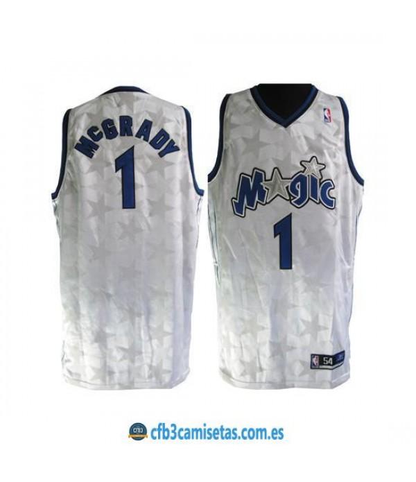 CFB3-Camisetas Tracy McGrady Orlando Magic 2001-02 - White
