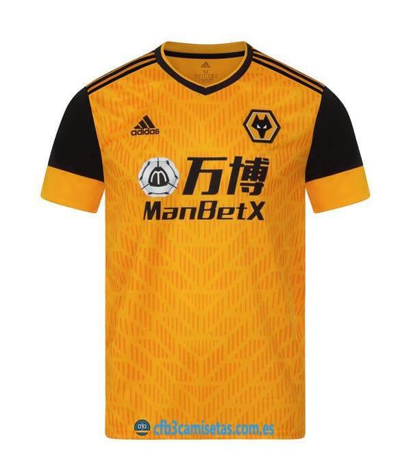 CFB3-Camisetas Wolves 1a Equipación 2020/21