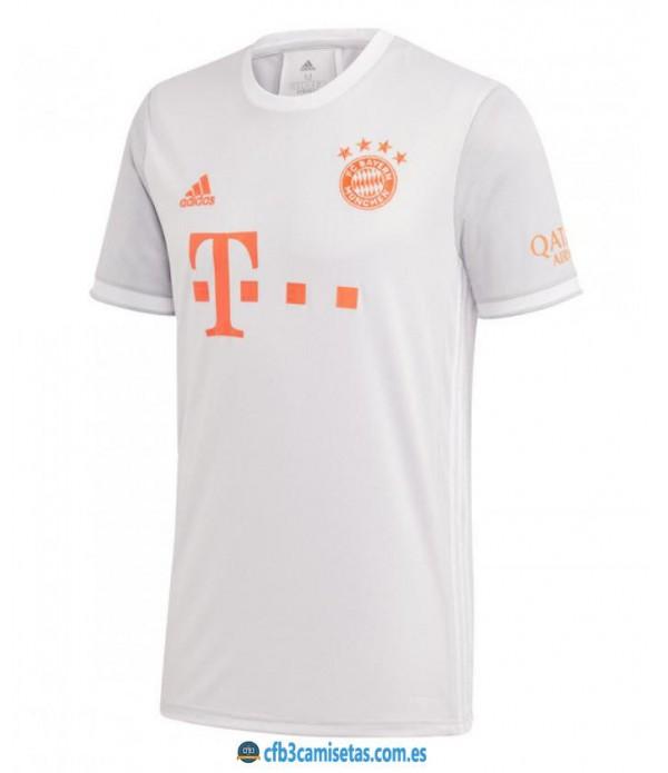 CFB3-Camisetas Bayern munich 2a equipación 2020/21