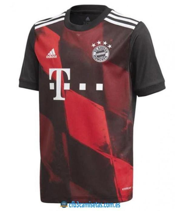 CFB3-Camisetas Bayern munich 3a equipación 2020/21