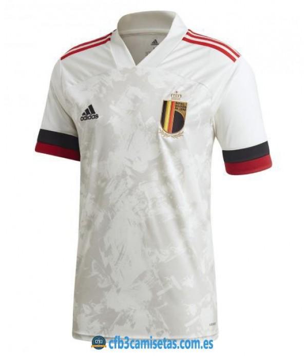 CFB3-Camisetas Bélgica 2a equipación 2020/21