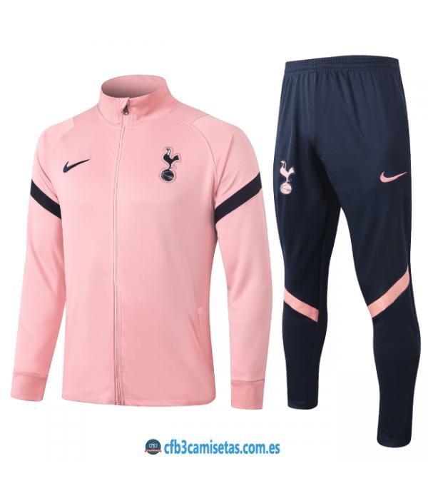 CFB3-Camisetas Chándal tottenham hotspur 2020/21 rosa 2 - niÑos