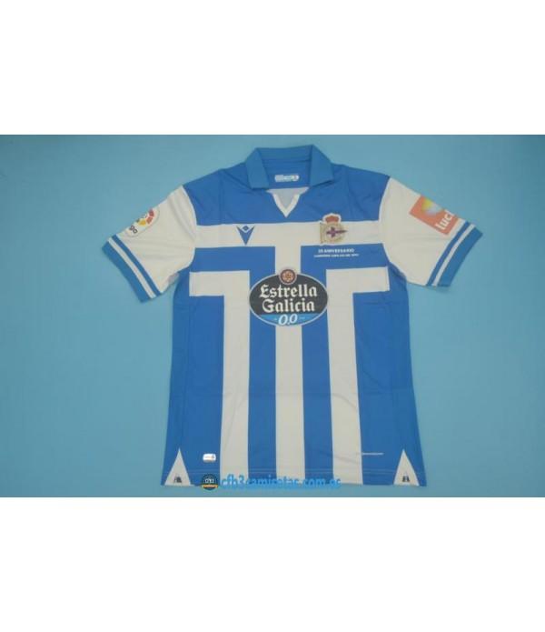 CFB3-Camisetas Deportivo la coruña 1a equipación 2020/21