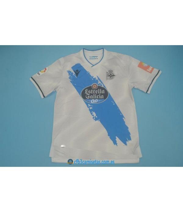 CFB3-Camisetas Deportivo la coruña 2a equipación 2020/21