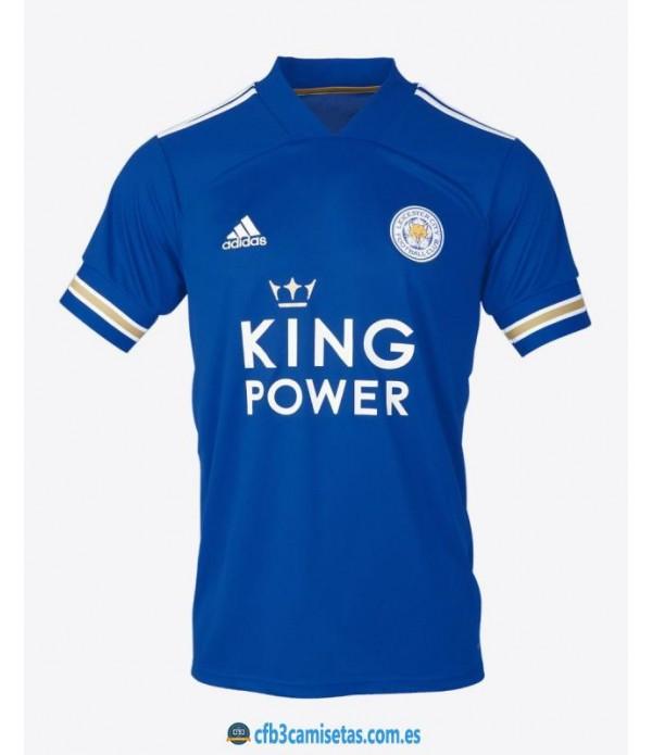 CFB3-Camisetas Leicester city 1a equipación 2020/21