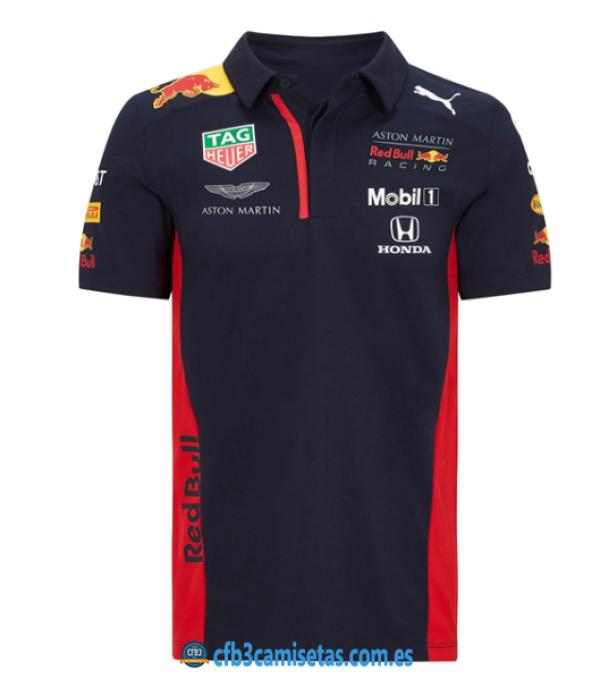CFB3-Camisetas Polo aston martin red bull racing 2020