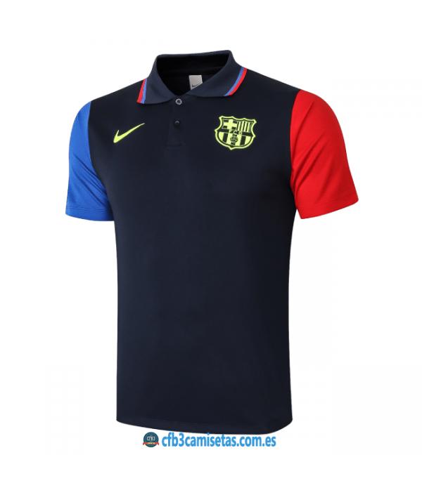 CFB3-Camisetas Polo fc barcelona 2020/21