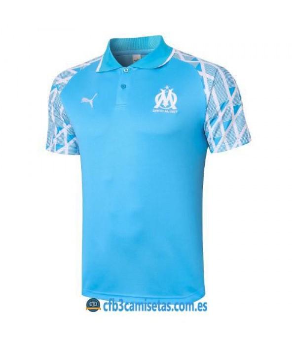 CFB3-Camisetas Polo olympique marsella 2020/21 - azul 2