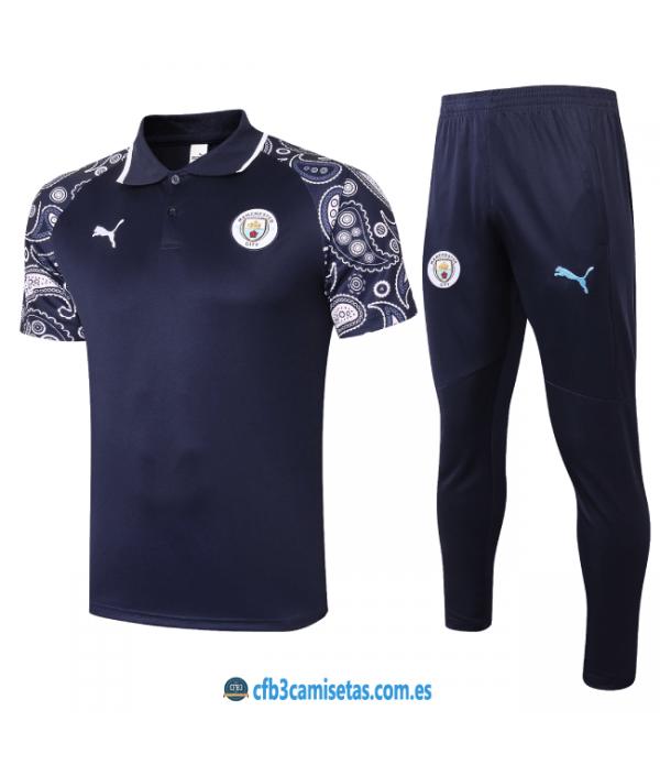 CFB3-Camisetas Polo pantalones manchester city 2020/21