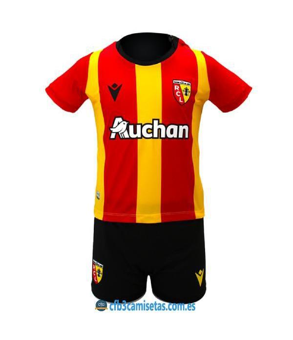 CFB3-Camisetas Rc lens 1a equipación 2020/21 - niÑos