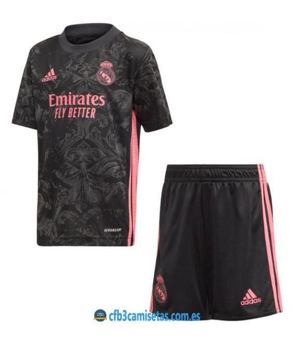 CFB3-Camisetas Real madrid 3a equipación 2020/21 - niÑos