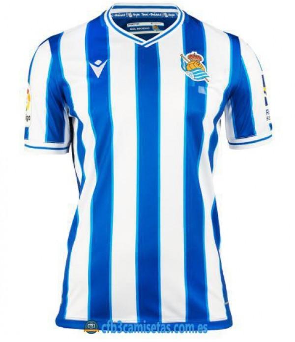 CFB3-Camisetas Real sociedad 1ª equipación 2020/21