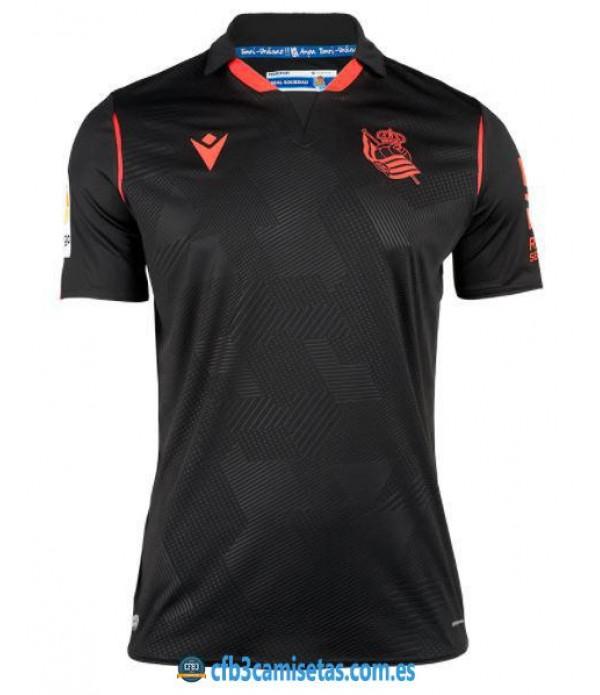 CFB3-Camisetas Real sociedad 2ª equipación 2020/21