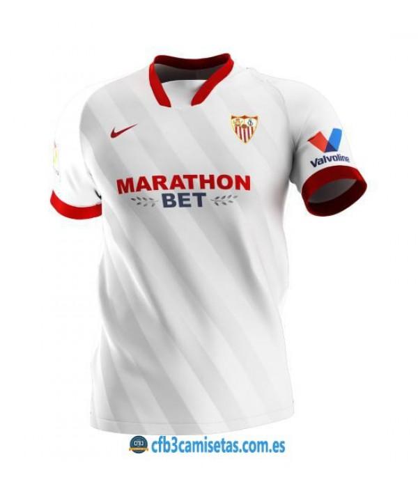 CFB3-Camisetas Sevilla 1a equipación 2020/21