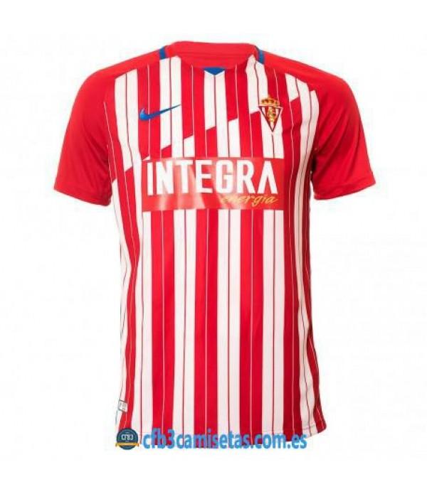 CFB3-Camisetas Sporting de gijon 1ª equipacion 2020/21