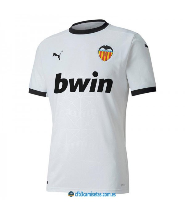 CFB3-Camisetas Valencia 1a equipación 2020/21