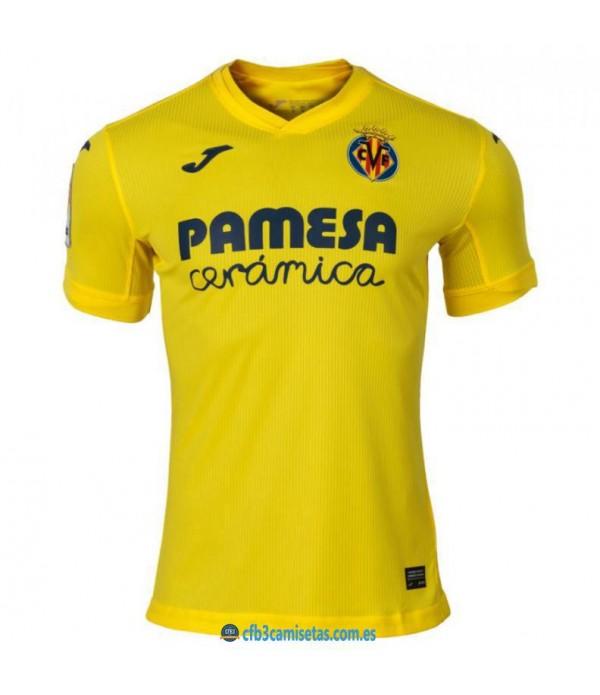 CFB3-Camisetas Villarreal 1ª equipacion 2020/21