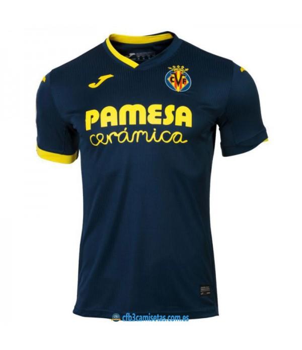CFB3-Camisetas Villarreal 2ª equipacion 2020/21