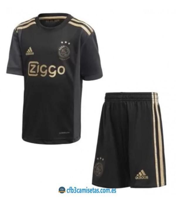 CFB3-Camisetas Ajax amsterdam 3a equipación 2020/21 - niÑos
