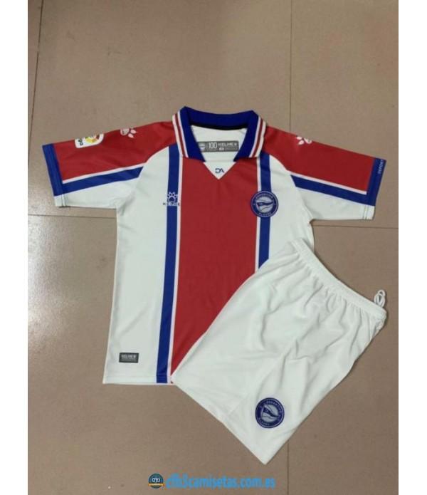 CFB3-Camisetas Alaves 2a equipación 2020/21 - niÑos