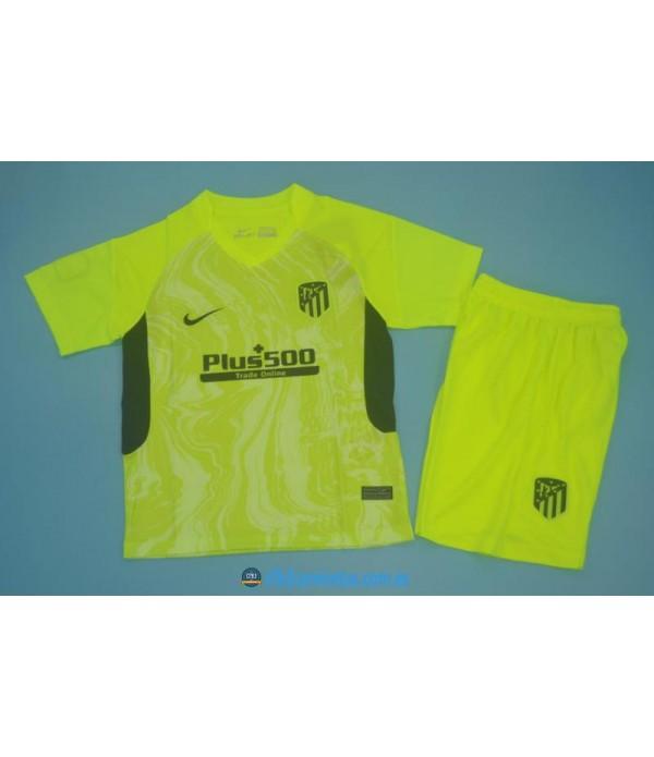 CFB3-Camisetas Atlético madrid 3a equipación 2020/21 - niÑos