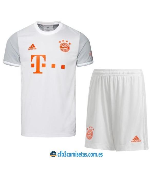 CFB3-Camisetas Bayern munich 2a equipación 2020/21 - niÑos