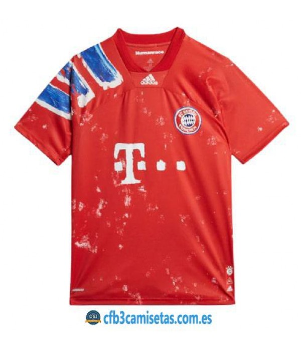 CFB3-Camisetas Bayern munich human race by pw