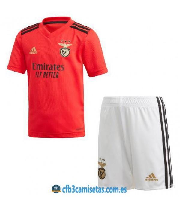 CFB3-Camisetas Benfica 1a equipación 2020/21 - niÑos