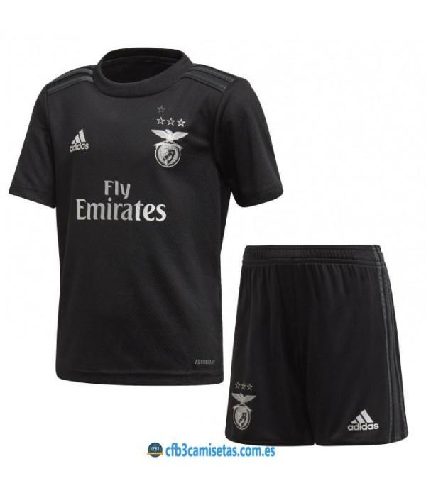 CFB3-Camisetas Benfica 2a equipación 2020/21 - niÑos