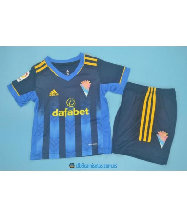 CFB3-Camisetas Cadiz 2a equipación 2020/21 - niÑos