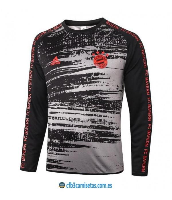 CFB3-Camisetas Camiseta bayern munich pre-partido 2020/21 ml