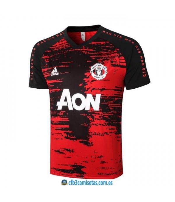 CFB3-Camisetas Camiseta manchester united pre-partido 2020/21