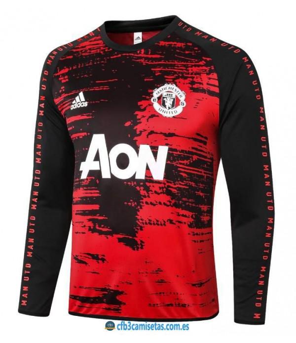 CFB3-Camisetas Camiseta manchester united pre-partido 2020/21 ml