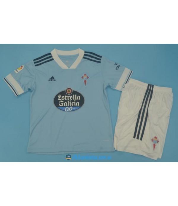 CFB3-Camisetas Celta de vigo 1a equipación 2020/21 - niÑos