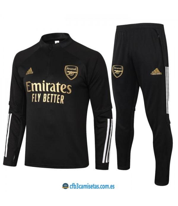 CFB3-Camisetas Chándal arsenal 2020/21 - black 2