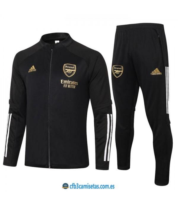 CFB3-Camisetas Chándal arsenal 2020/21 - black